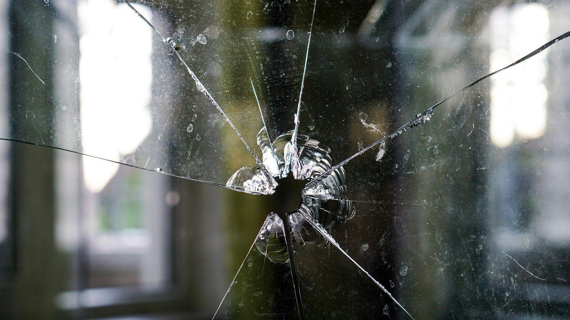 Glasbruch Schaden